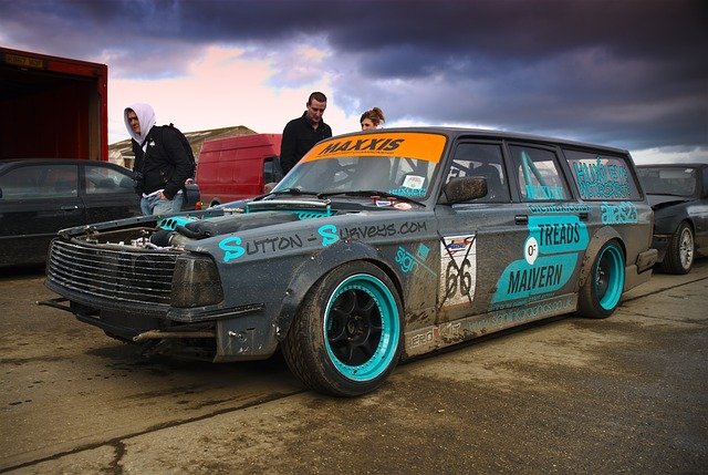 Custom Old Cars Wallpaper Free Photo Volvo Drift Car Norfolk Arena Free Image