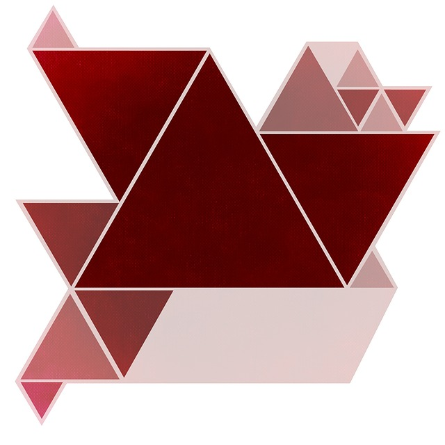Abstract Vector Wallpaper Hd Free Illustration Background Image Red Triangle Free