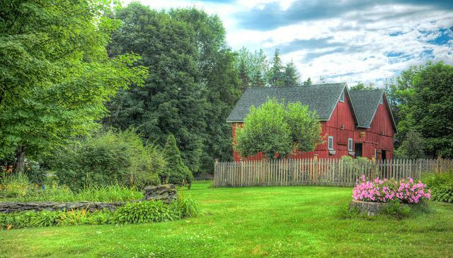 Fall Farm Desktop Wallpaper Free Photo Barn Red Rustic Wood Vermont Free Image