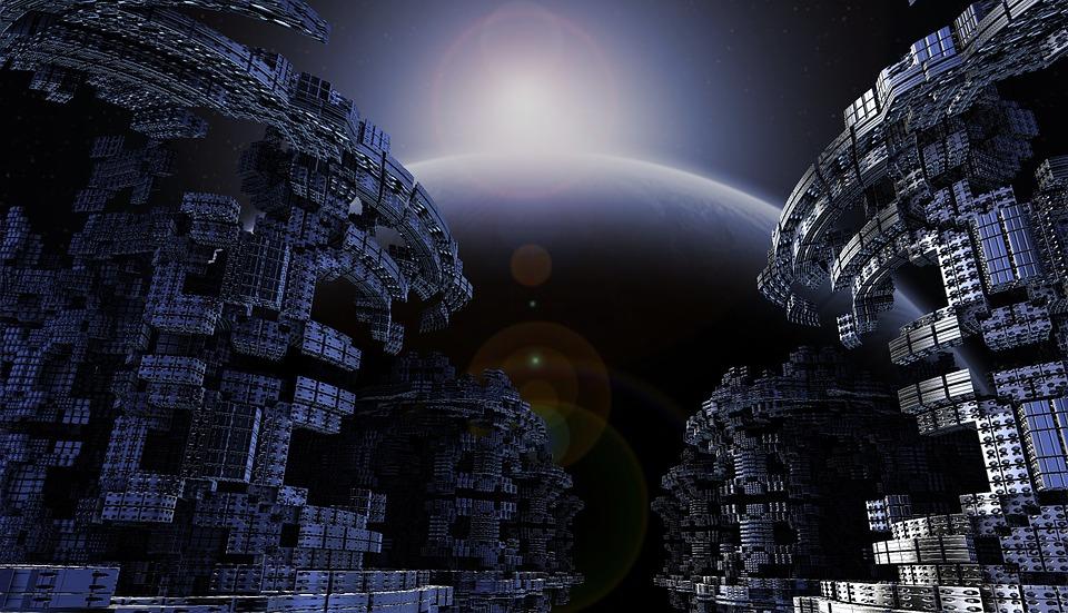 Best 3d Modern Wallpaper Image Free Illustration Space Modern Science Fiction Free
