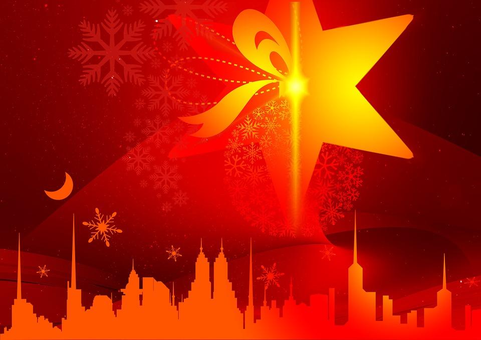 Blue Wallpaper Hd Download Kostenlose Illustration Rot Silhouette Weihnachten