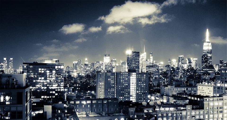 Fall Wallpaper 1440p Free Photo New York Skyline Night City Free Image On