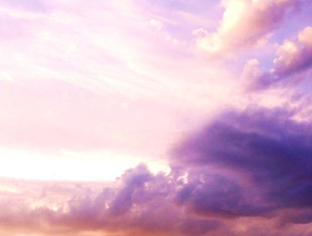 Cute Pinkish Wallpapers Free Photo Sky Pink Sunset Cloud Free Image On