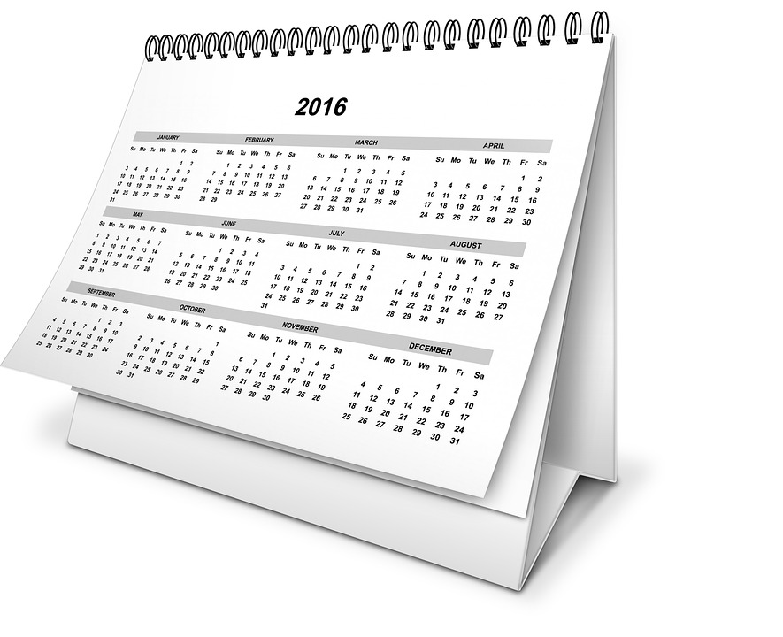 Calendar Year Month - Free image on Pixabay