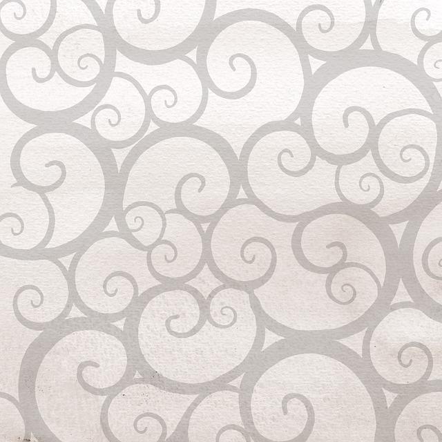Damask Wallpaper Hd Free Illustration Grey Swirl Background Patchwork