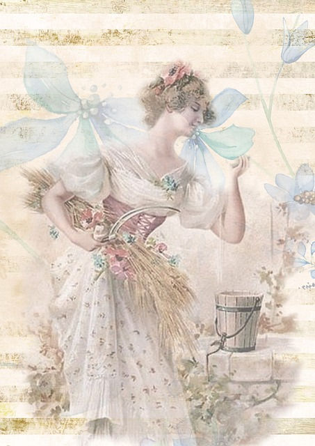 Free Fall Facebook Wallpaper Free Illustration Greeting Card Vintage Victorian