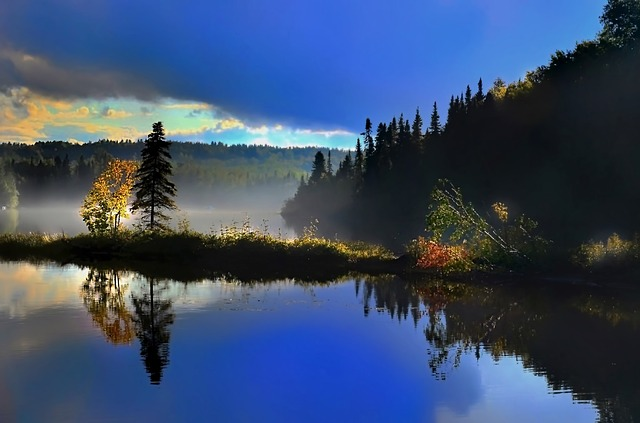 Fall Computer Wallpaper Images Landscape Reflections Lake 183 Free Photo On Pixabay