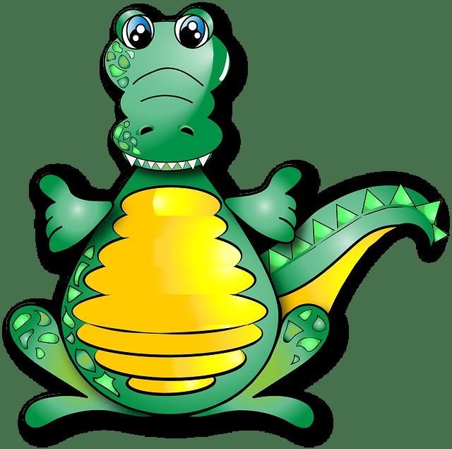 Cute Pug Wallpaper Cartoon Crocodile Funny Alligator 183 Images Vectorielles Gratuites