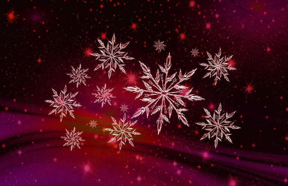 Free Wallpaper 3d 1080p Illustrazione Gratis Natale Fiocco Di Neve Immagine
