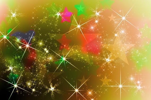 Black Light Wallpaper Free Illustration Star Christmas Background Image