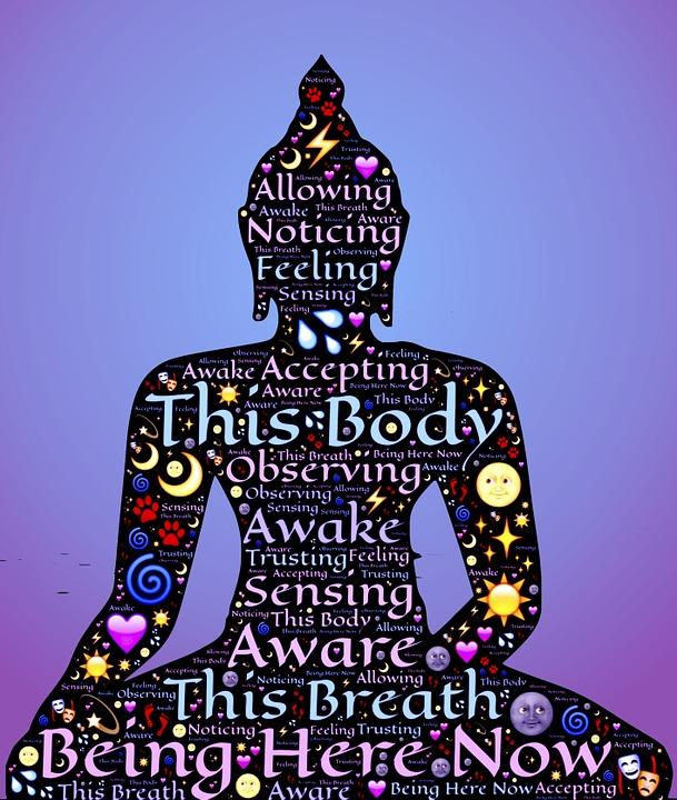 Wallpaper Black And White Girl Free Illustration Vipassana Yoga Meditation Free