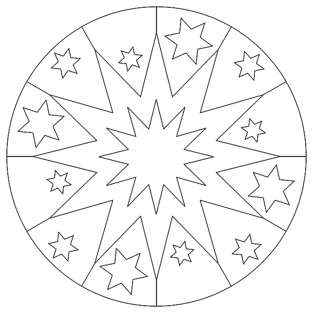 Art Car Wallpaper Mandala Star Christmas 183 Free Image On Pixabay