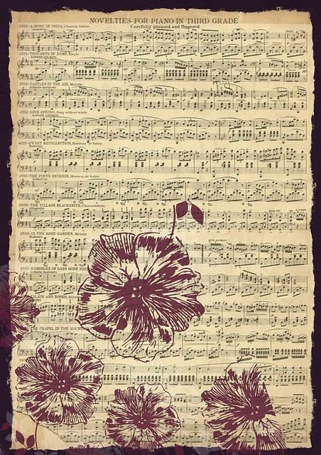 Old Paper Wallpaper Hd Vintage Musique Feuille 183 Image Gratuite Sur Pixabay