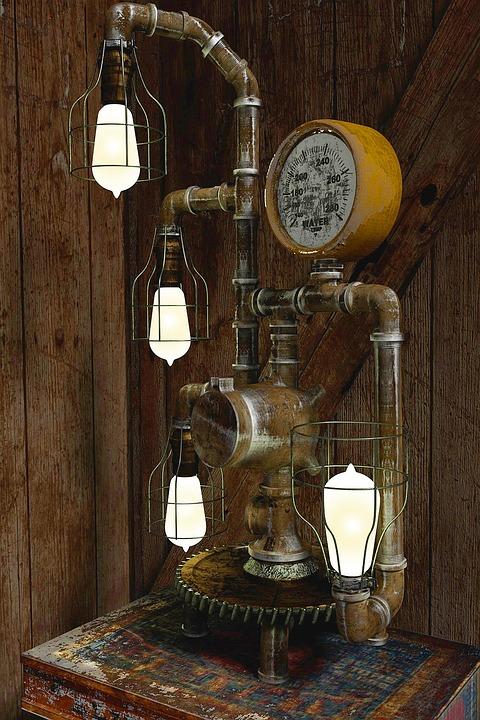 Vintage Car Design Wallpaper Steampunk Lamp Vintage 183 Free Photo On Pixabay