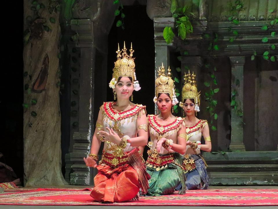 Wallpaper Fitness Girl Cambodia Dancers Dance 183 Free Photo On Pixabay