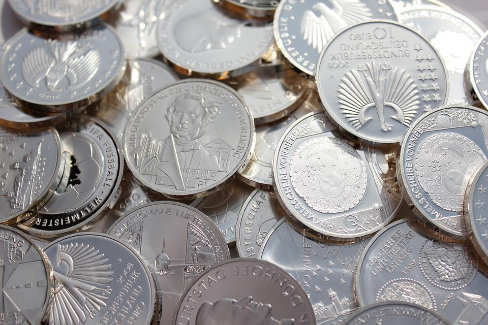 Money Wallpaper Hd Free Photo Silver Coins Coin Finance Metal Free