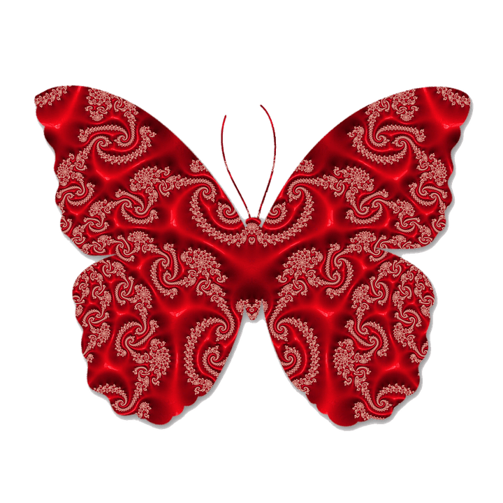 Beautiful Girl Photo Wallpaper Download Butterfly Red Fractal Art 183 Free Image On Pixabay