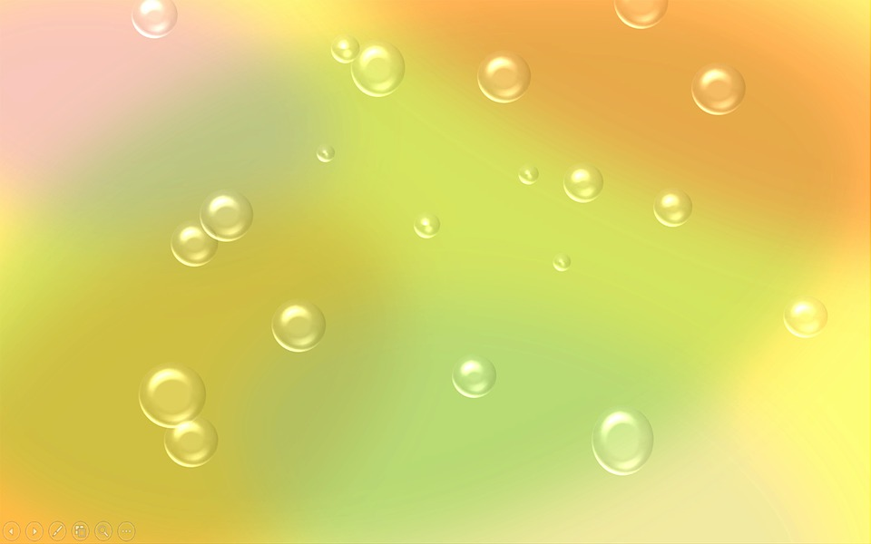 Orange Color Wallpaper Hd Free Illustration Small Bubbles Bubbles Bubble Free