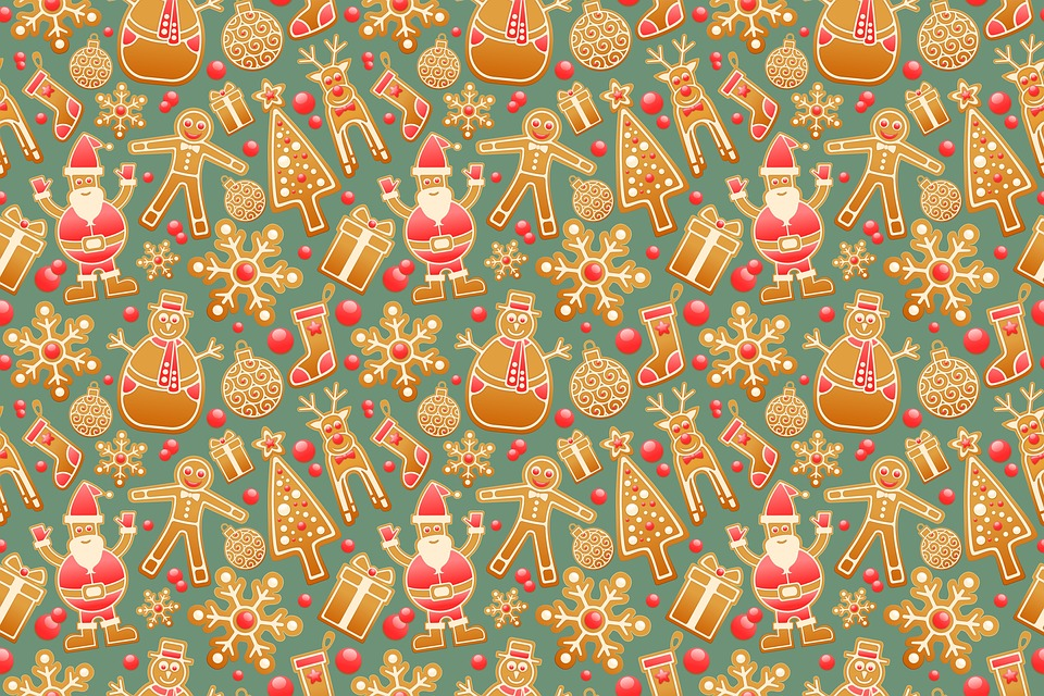 Seasonal Fall Coffee Desktop Wallpaper Pattern Seamless Gingerbread 183 Free Image On Pixabay