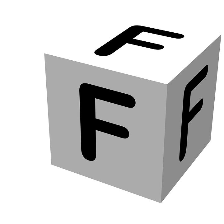 Black Text Wallpaper Free Illustration Letter Block F Wooden Alphabet