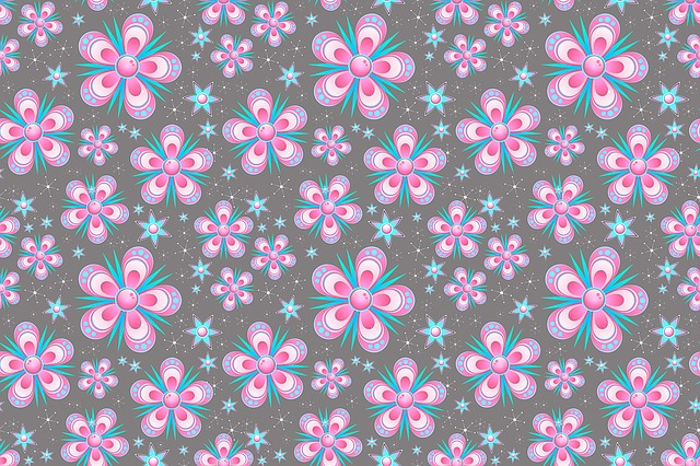 Pink Fall Wallpaper Seamless Pattern Flowers Pink 183 Free Image On Pixabay