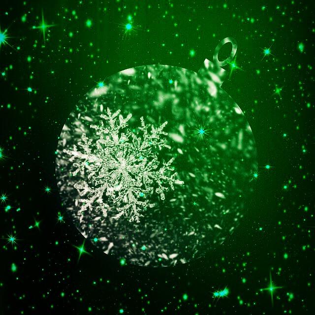 Black And Green Wallpaper Free Illustration Christmas Background Ball Glitter