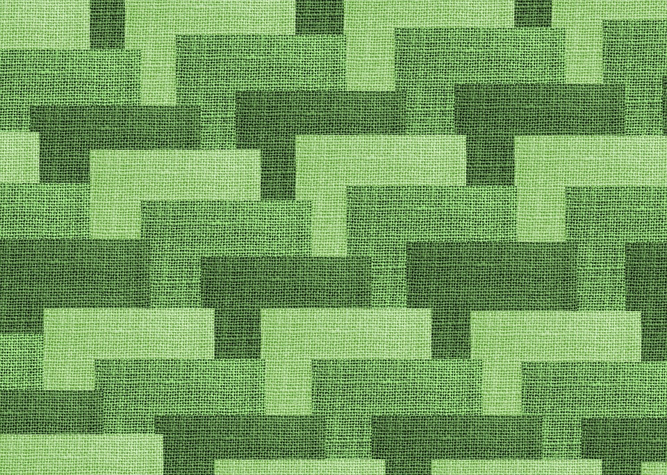 Forest Animal Wallpaper Free Illustration Fabric Backdrop Geometric Green