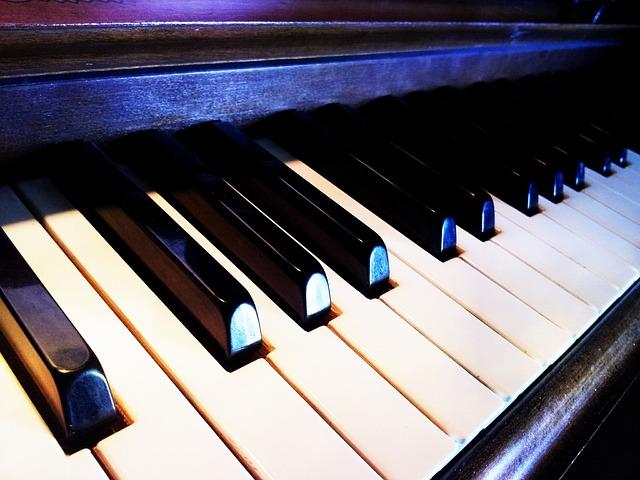 Wallpaper Hd 1080p 3d Flower Free Photo Piano Music Keyboard Instrument Free
