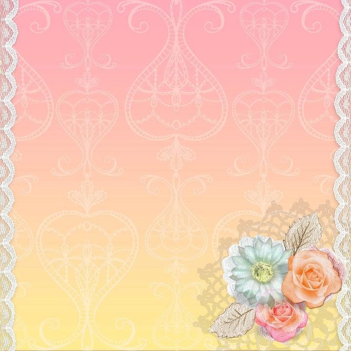 Free Hd Flower Wallpaper Free Illustration Background Swirl Pink Lace Free