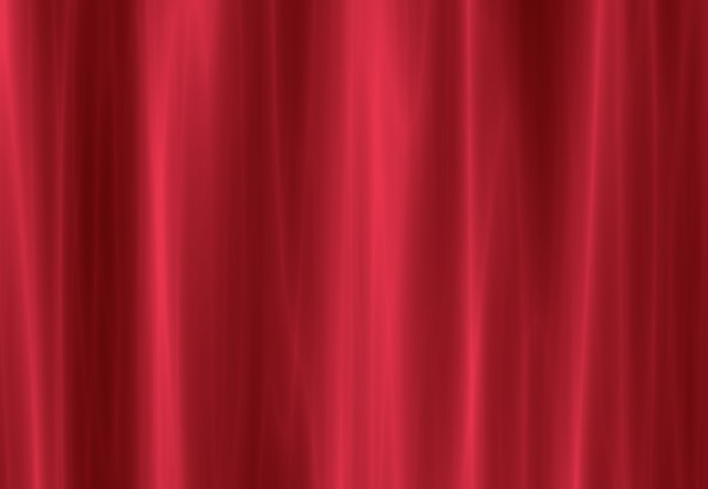 Vorhang Rosa Free Illustration: Curtain, Red, Red Curtain - Free Image