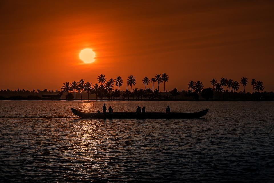 Wallpaper Images Hd Flowers Sunset Kerala Aleppay 183 Free Photo On Pixabay