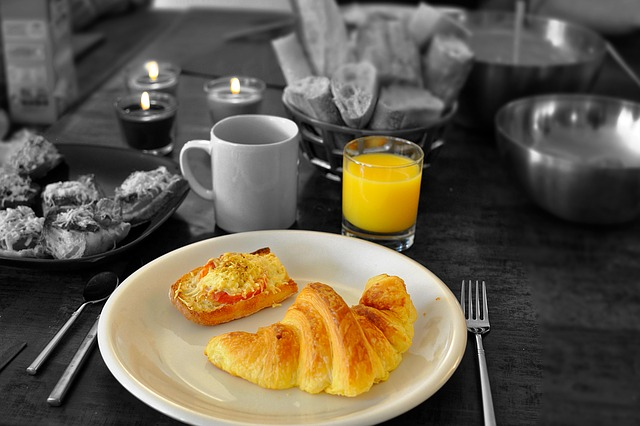 Glass Wallpaper Hd Free Photo Continental Breakfast Croissant Free Image