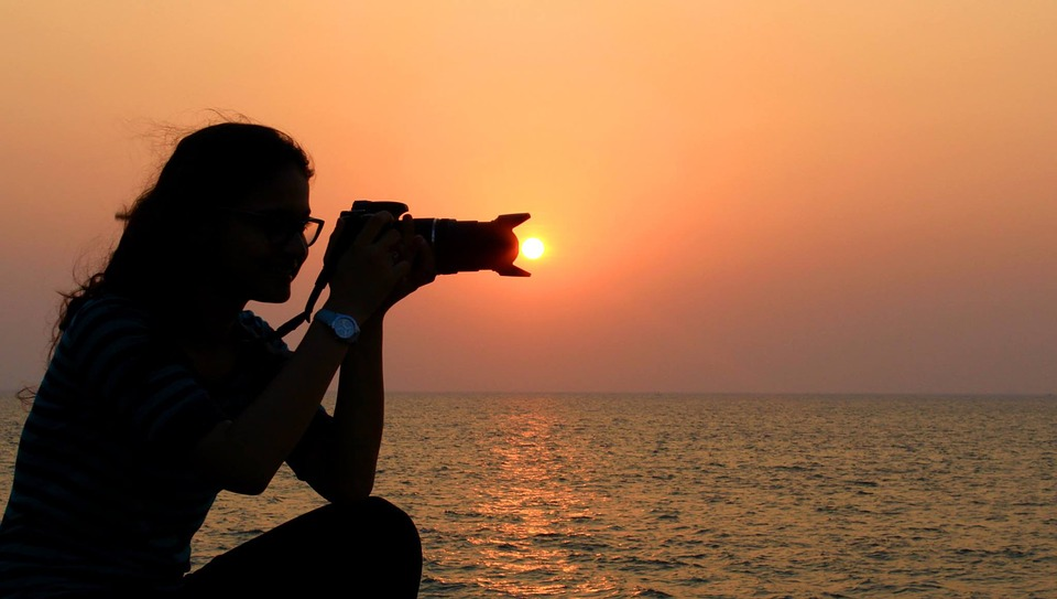 Skate Girl Hd Wallpaper Free Photo Women Silhouette Sunset Sea Free Image On