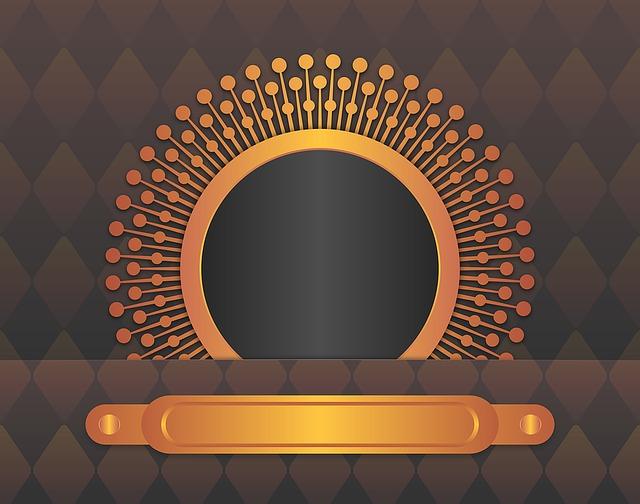 Yin And Yang Wallpaper Hd Frame Gold Black 183 Free Image On Pixabay