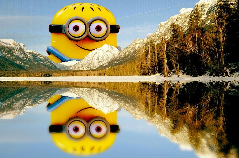 Beautiful Fall Pictures Wallpaper Lake Mcdonald Landscape Minion 183 Free Image On Pixabay