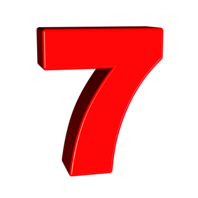 Seven Number 7 · Free image on Pixabay
