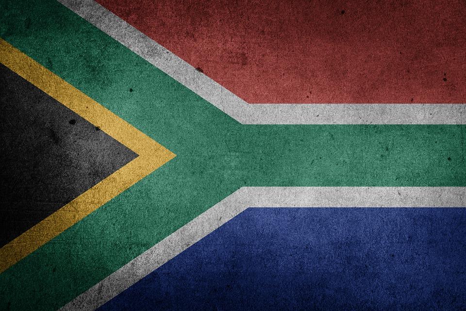 Black Vintage Wallpaper Free Illustration South Africa Flag National Flag