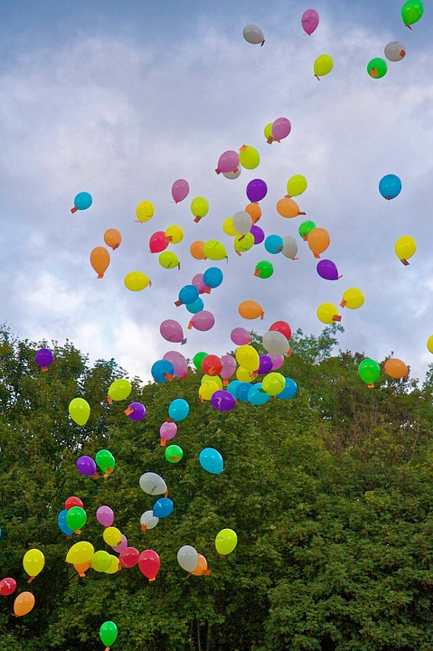 Balloons Floating Colorful · Free photo on Pixabay