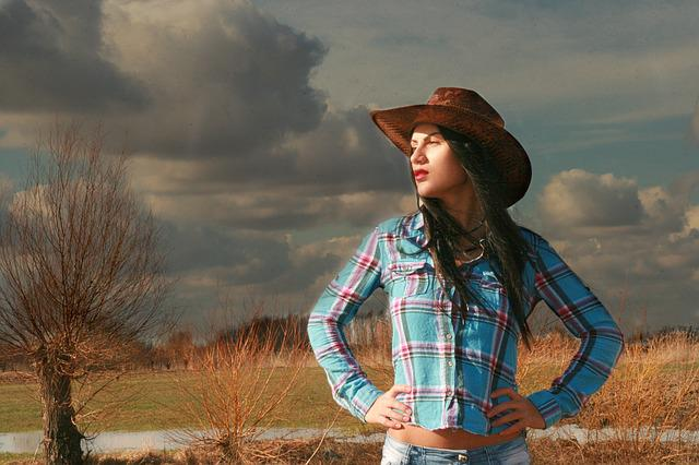 Beauty Girl Hd Wallpaper Download Free Photo Cowgirl Western Wild West Hats Free Image