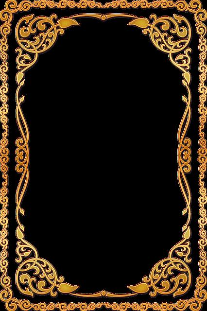 Fall Flowers Desk Background Wallpaper Frame Ornate Gold 183 Free Image On Pixabay