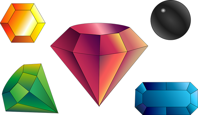 3d Wallpaper Editor Free Vector Graphic Gems Gemstones Precious Jewel