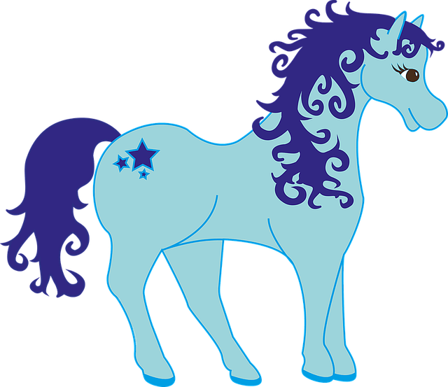 Cute Cartoon Dragon Wallpaper Pony Blue Mythical Creatures 183 Free Vector Graphic On Pixabay