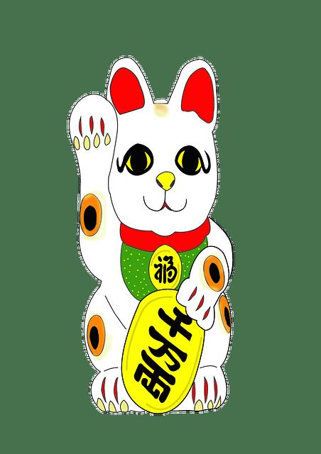 Wallpaper Iphone 4 Cartoon 무료 일러스트 손짓 장식물 고양이 일본 손짓 고양이 Pixabay의 무료 이미지 1245487