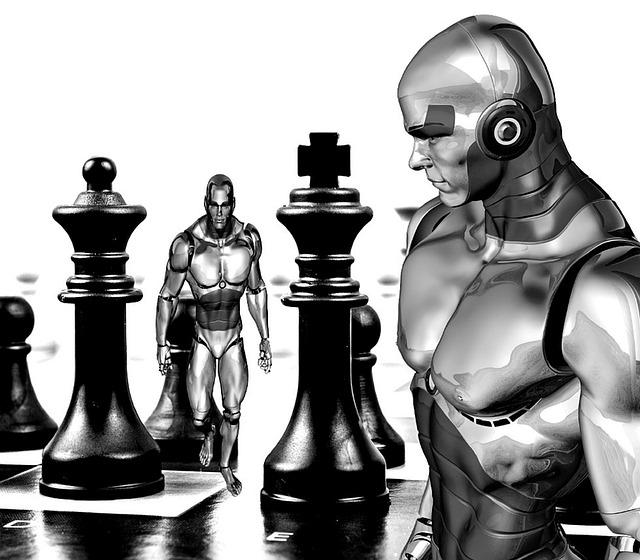 Machine Girl Wallpaper Chess Cyborg Robot 183 Free Image On Pixabay