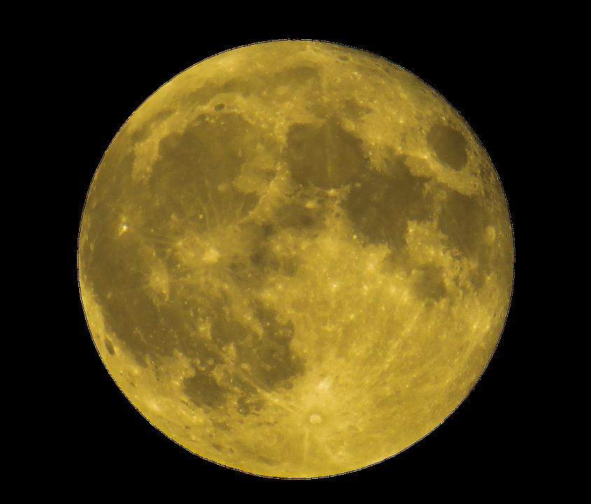 Animated Girl Wallpaper Free Download Moon Full Yellow 183 Free Photo On Pixabay
