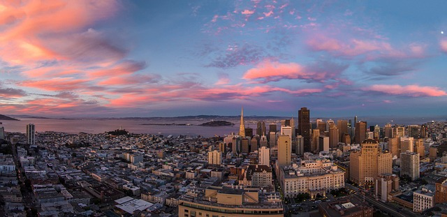 Girl Image Wallpaper Free Download San Francisco Sunset Drone 183 Free Photo On Pixabay