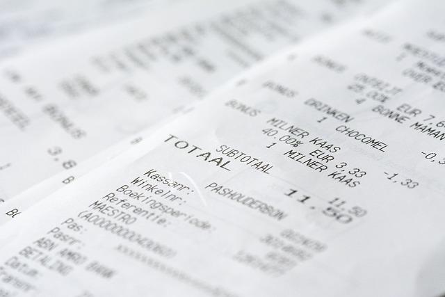 gas receipt log