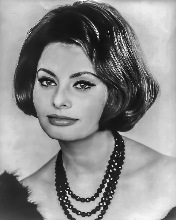 Beautiful Girl Face Wallpaper Sophia Loren Female Portrait 183 Free Photo On Pixabay