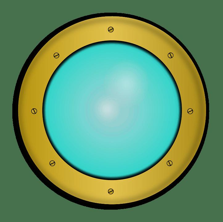 Sunrise 3d Wallpaper Boat Porthole 183 Free Vector Graphic On Pixabay