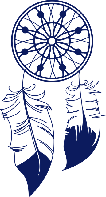 Silhouette Girl Real Wallpaper Free Vector Graphic Culture Dream Catcher Feather